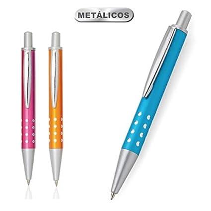 Lote de 30 Bolígrafos Minibolígrafos de Metal