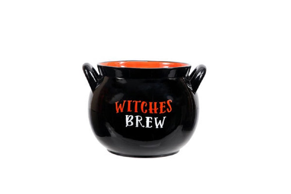DEI Witches Cauldron Candy Bowl 90581