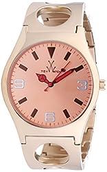 ToyWatch Women's CU11PG Cuff Pink Stainless Steel Watch