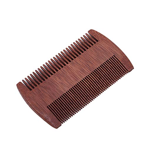 LZIYAN Densities Teeth Wooden Hair Comb Anti-Static Double Tooth Comb Portable Straight Hair Comb For Men And Women by LZIYAN (Image #4)