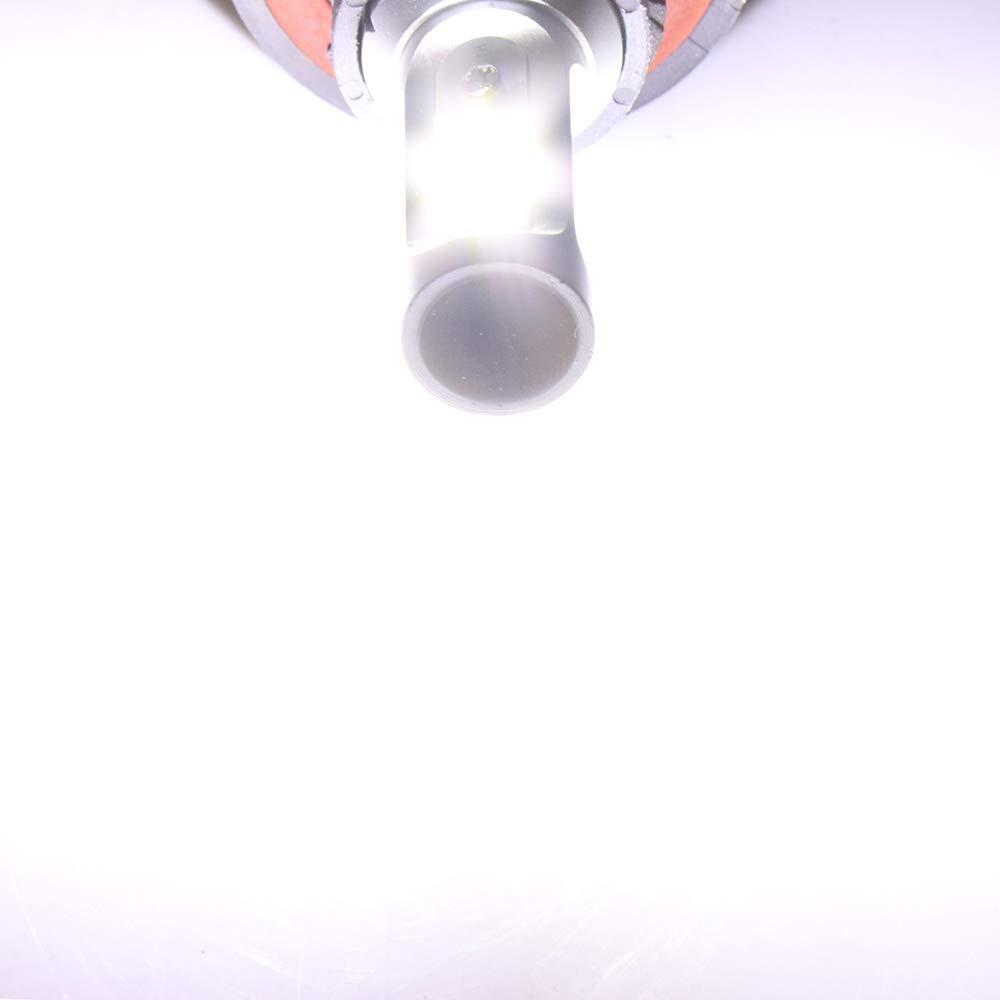 Pack of 2 ECCPP 9006 LED Headlight Bulb Hi//Lo Beam White Headlamp Conversion Kit 80W 6000K 9600Lm 1 Year Warranty