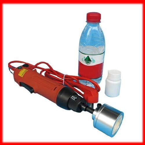 Huscus New Manual Electric Capping Machine for Screw Cap,Screw Capper Plastic Bottle Capping Machine Capper(10-50MM)