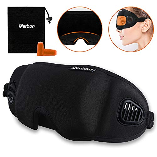 sleep mask with ventilation - 1