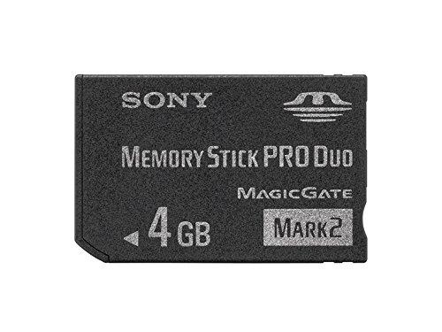 (Sony Memory Stick Pro Duo Mark2 4gb Ms-mt4g)