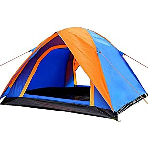KH3S Double Layer 3 4 Person Rainproof Outdoor Camping Tent for Hiking Fishing Hunting Adventure Picnic Party (2)