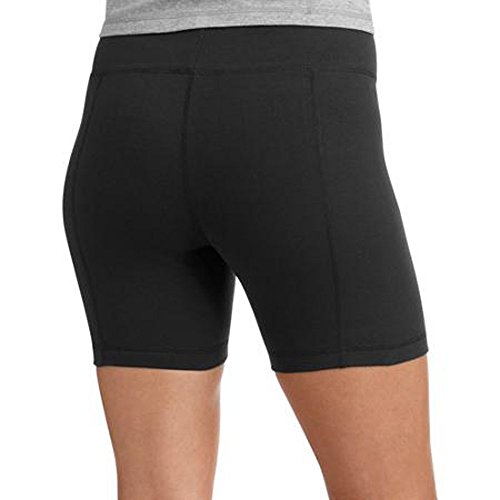 Danskin Womens 5-Inch Bike Shorts (2X-Large, Navy Blue)