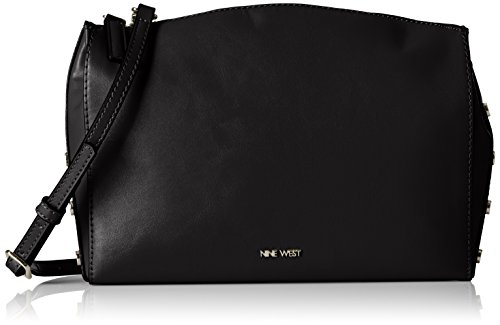 Nine West Sheer Genius Cross Body, Black/Dynasty Red/Black