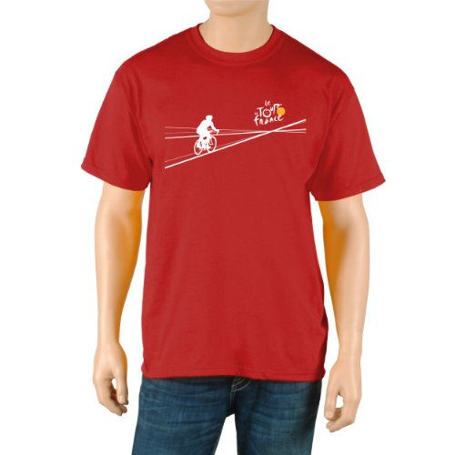 Tour De France Packleader Short Sleeve Tee (Red, Small) (Tour De France Polka Dot Jersey For Sale)