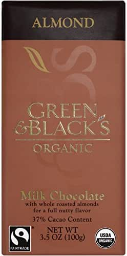 Chocolate Candies: Green & Black's Organic Milk Chocolate