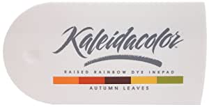 Tsukineko 5-Color Kaleidacolor Dye Inkpad, Autumn Leaves