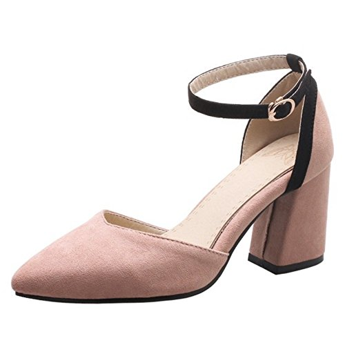 Tacco COOLCEPT Pink Scarpe con Chiusa Punta Donna PxHawqxvX