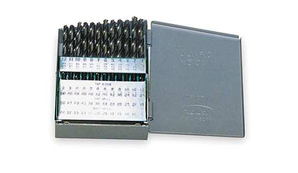 Pack of 12 #60 HSS Black Oxide Jobber Length Drill Bit