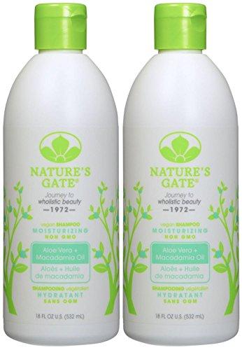 Nature's Gate Moisturizing Shampoo with Aloe Vera - 18 oz -