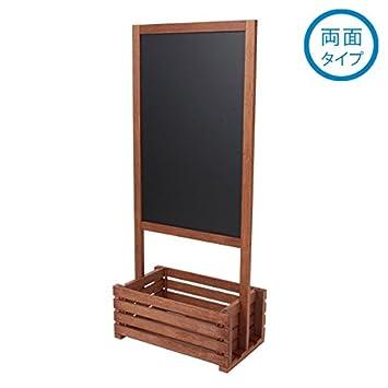 ボックス付き スタンドボード 幅52×122cm [ メニューボード ウェルカムボード ブラックボード 立て