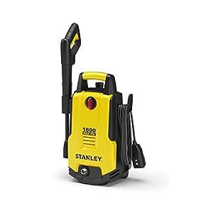 Stanley SHP1600 1600 Psi Electric Pressure Washer with Vari-Spray Nozzle, Wand, Spray Gun, 20′ Hose & Detergent Bottle…
