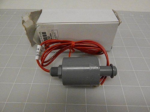 PVC Float Single Point Engineered Plastic Level Switch, 1-1/2