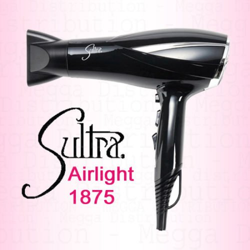 Sultra Airlight 1875w 2 Speed / 3 Heat Setting Ionic Super Lightweight Hair...