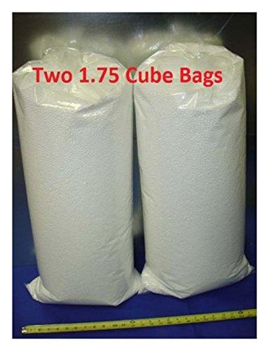 3.5 Cu Ft 4.5MM Virgin White Small Polystyrene Bean Bag Filler Beads Crafts U.S.A Made