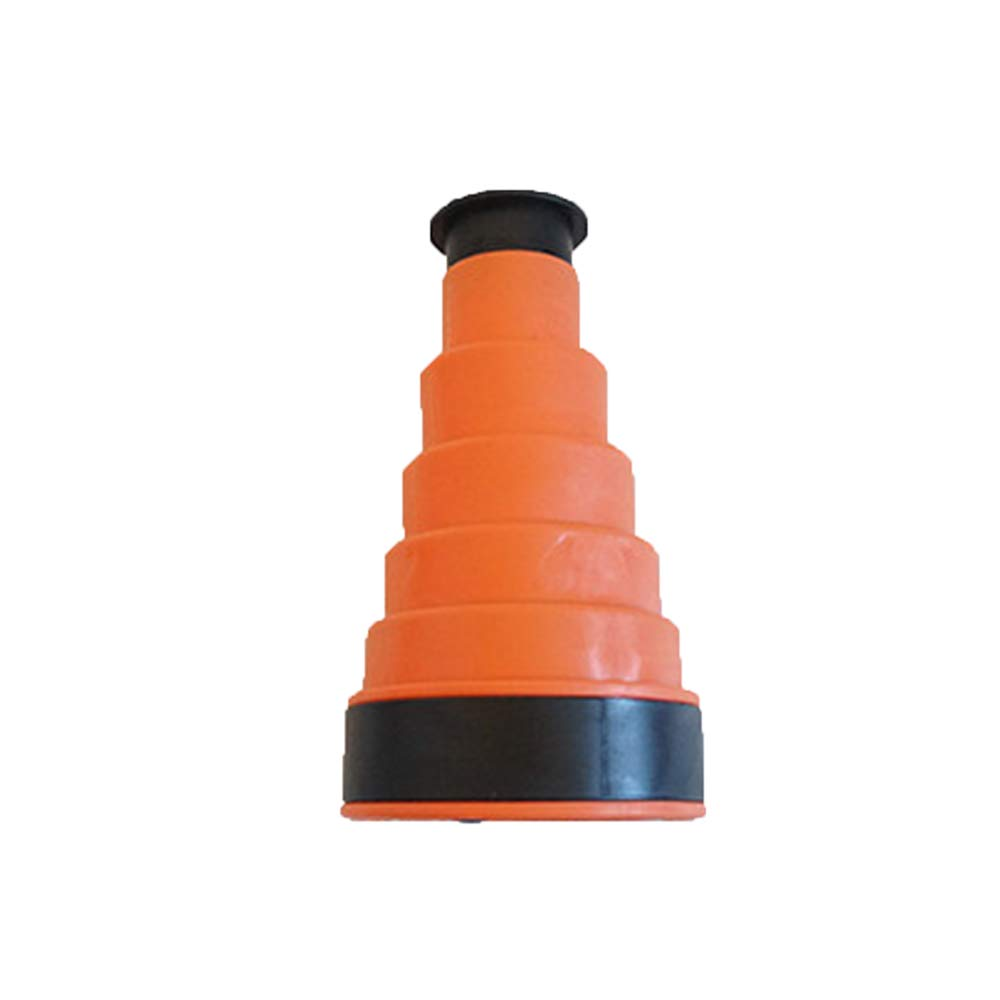 Manual Drain Plunger and Bellows Sink for Bathrooms, Kitchens, Sinks, Baths and Showers, Sewer Dredge Cleaning Tool (Orange) by Zhenxigg
