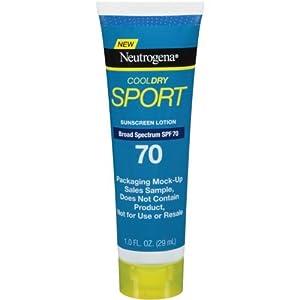 Neutrogena CoolDry Sport SPF 70 Sunscreen Lotion, 1 Fluid Ounce -- 48 per case.