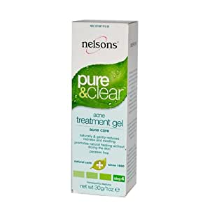 Nelsons: Pure & Clear Acne Treatment Gel, 1 oz