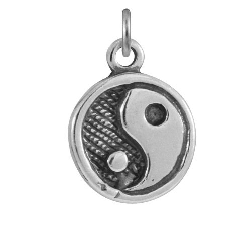 TheCharmWorks Sterling Silver Yin Yang Charm