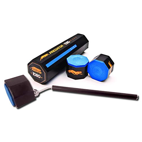 Predator 1080 Pure Performance Chalk, 5 Pieces with Octagon Chalk Holder -