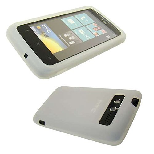 caseroxx TPU TPU-Bumper for HTC Trophy, Bumper Case in white Smartphone - Htc Trophy Silicone Case