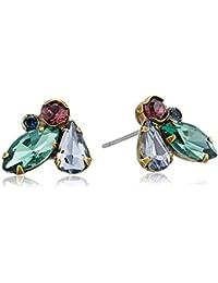 Petite Crystal Cluster Stud Earrings