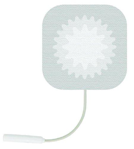 StarBurst Reusable Stimulating Electrodes, Starburst Reuse Elctrd 2X2 in, (1 PACK, 4 (Superior Silver Stimulating Electrodes)