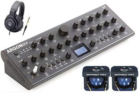 MODAL/Argon 8M【ヘッドフォン&ケーブルセット!】8ボイス・ポリフォニック・ウェーブテーブル・シンセサイザー テーブルトップ・モデル