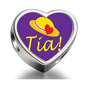 Raras Love TIA corazón tiene cuentas para pulsera corazón Photo