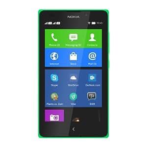 "Nokia XL - Smartphone libre (pantalla 5"", cámara 5 Mp, 4 GB, Dual-Core 1 GHz, 768 MB RAM), verde"