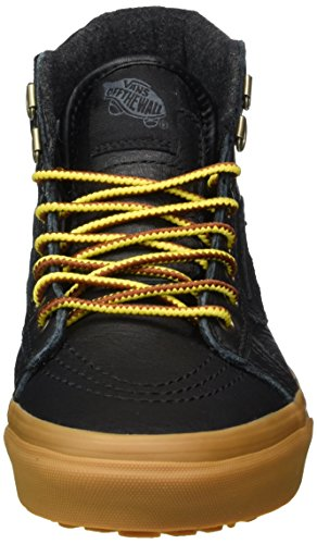 Nero Leather Sk8 Sneaker – Black Hi Unisex MTE Mte Gum Vans Adulto Rv0wZqv