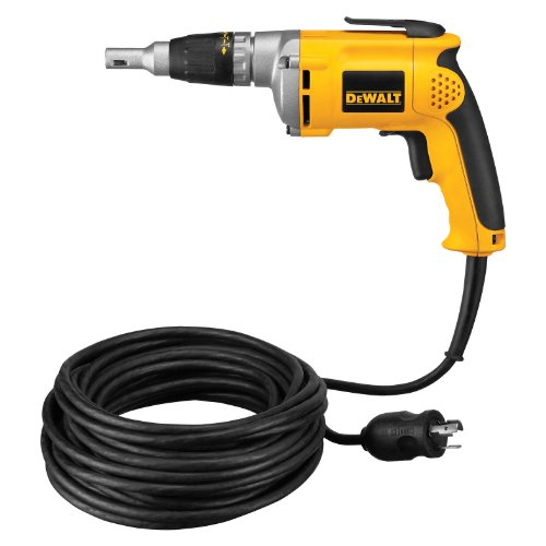 DEWALT DW272WT 6.3 Amp VSR Drywall Screwdriver (Drywall Rpm 4000 Screwdriver)