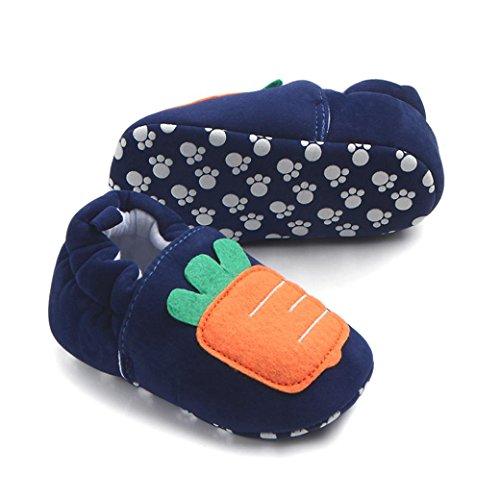 Igemy 1 Paar Schön Kleinkind Baby Schuhe Runde Wohnungen Weiche Pantoffel Schuhe A
