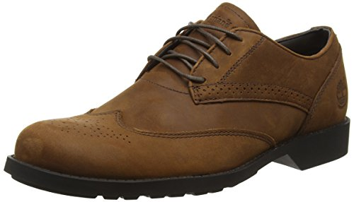 Timberland Fitchburg Wing Oxford, Scarpe Low-Top Uomo marrone