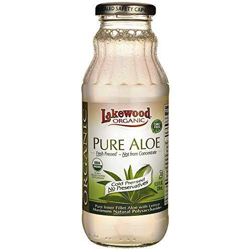 (Lakewood Organic Fresh Pressed Pure Aloe (1 X 12.5 Fl Oz))