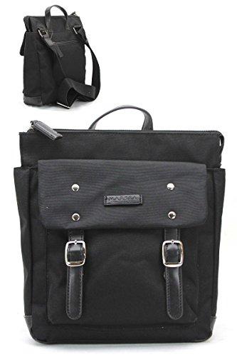 M.A.R.S.E.A Black Backpack - Downtown Ma