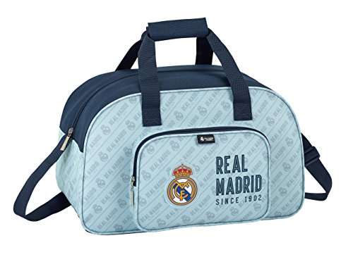 Safta Bolsa De Deporte Real Madrid Corporativa Oficial 400x230x240mm
