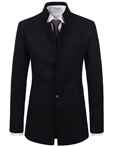 Wool Blend Button - 6