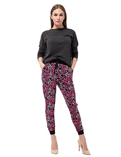 Womens Pattern Printed Leggings Stretch