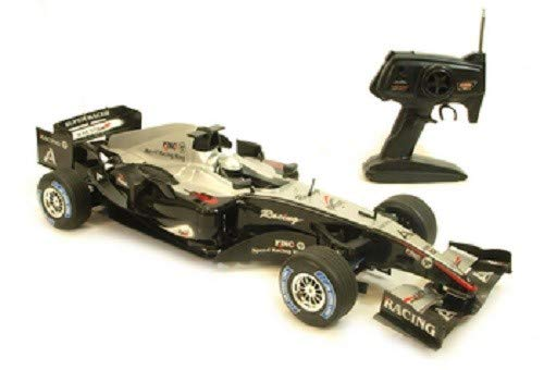 Radio Control Formula Black 1 Rc F1 Race Car 1:8 Scale ()