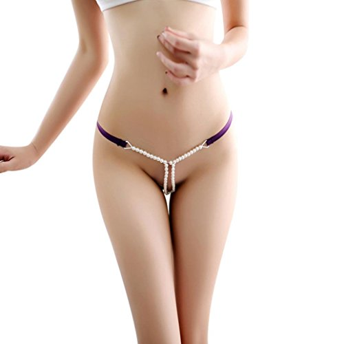 OutTop Women Sexy Lace T Back Thongs G-String Panty Underwear -