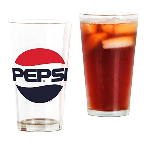 Pepsi Glasses (CafePress - Pepsi 90S Logo - Pint Glass, 16 oz. Drinking Glass)