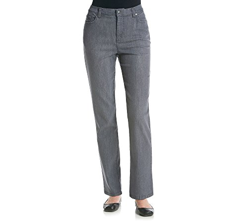 (Gloria Vanderbilt Women's Amanda Classic Tapered Jean, Glacial Wash, 4 Short)