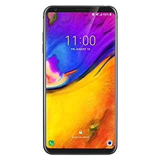 "LG V35 ThinQ 64GB GSM Unlocked LTE Smartphone w/Dual 16MP Cameras, 6"" QHD+ OLED FullVision, Face Recognition & Fingerprint Sensor (Platinum Gray)"