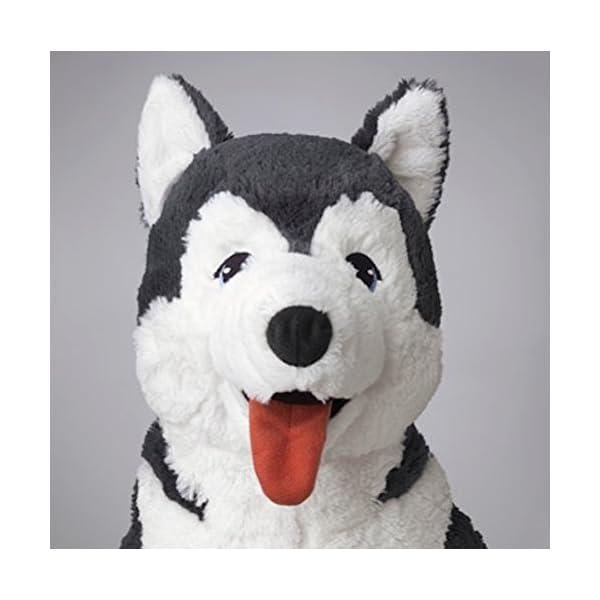 Ikea Livlig Soft Toy Husky Dog Siberian Stuffed Alaskan Malamute Eskimo Large 3