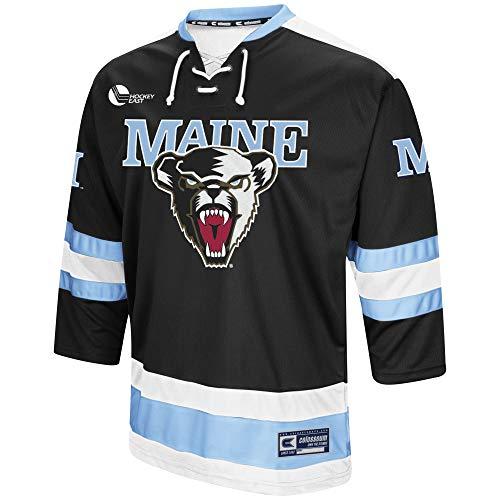 - Colosseum Maine Black Bears Mens Athletic Machine Hockey Sweater-XXXL