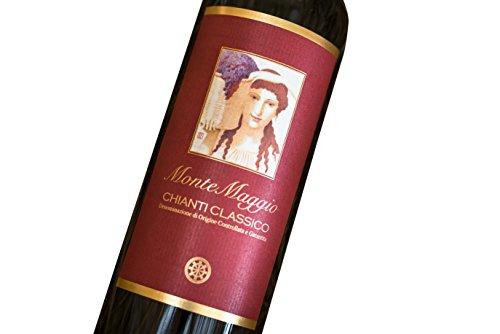 Chianti Classico di Montemaggio - Vino Toscano Biologico Chianti Gallo Nero - DOCG - Fattoria di Montemaggio - Annata… 4 spesavip